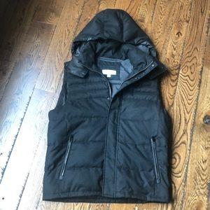 Men's Calvin Klein hooded vest. Size medium.